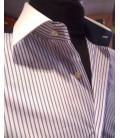 Shine Granato Bianco italian shirts
