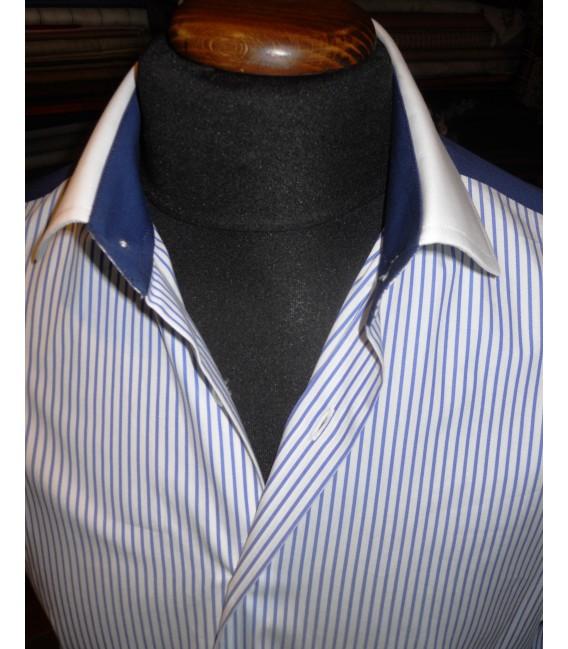 fotografie immagini Camicie Granato - Bianco - Shine