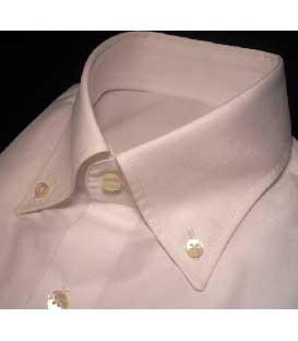 Camicia Classica Italiana Bianco Shine