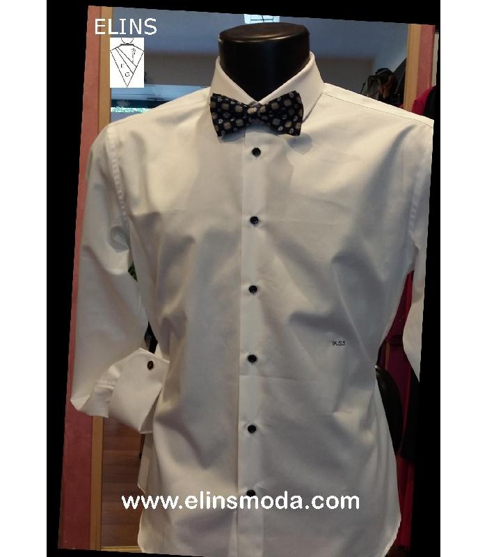nuovo stile 30955 a0815 Camicia sartoriale bianca per smoking