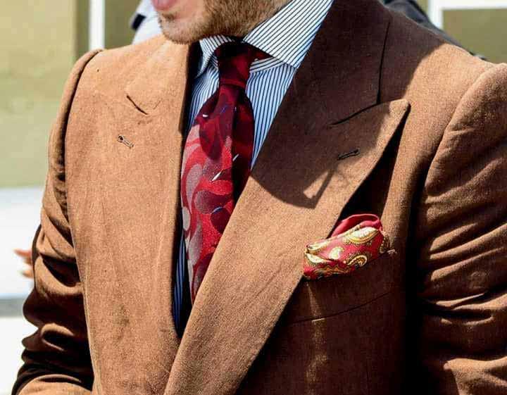 abito completo uomo stilista Elins moda