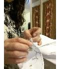 Dopasowane ręcznie haftowane koszule