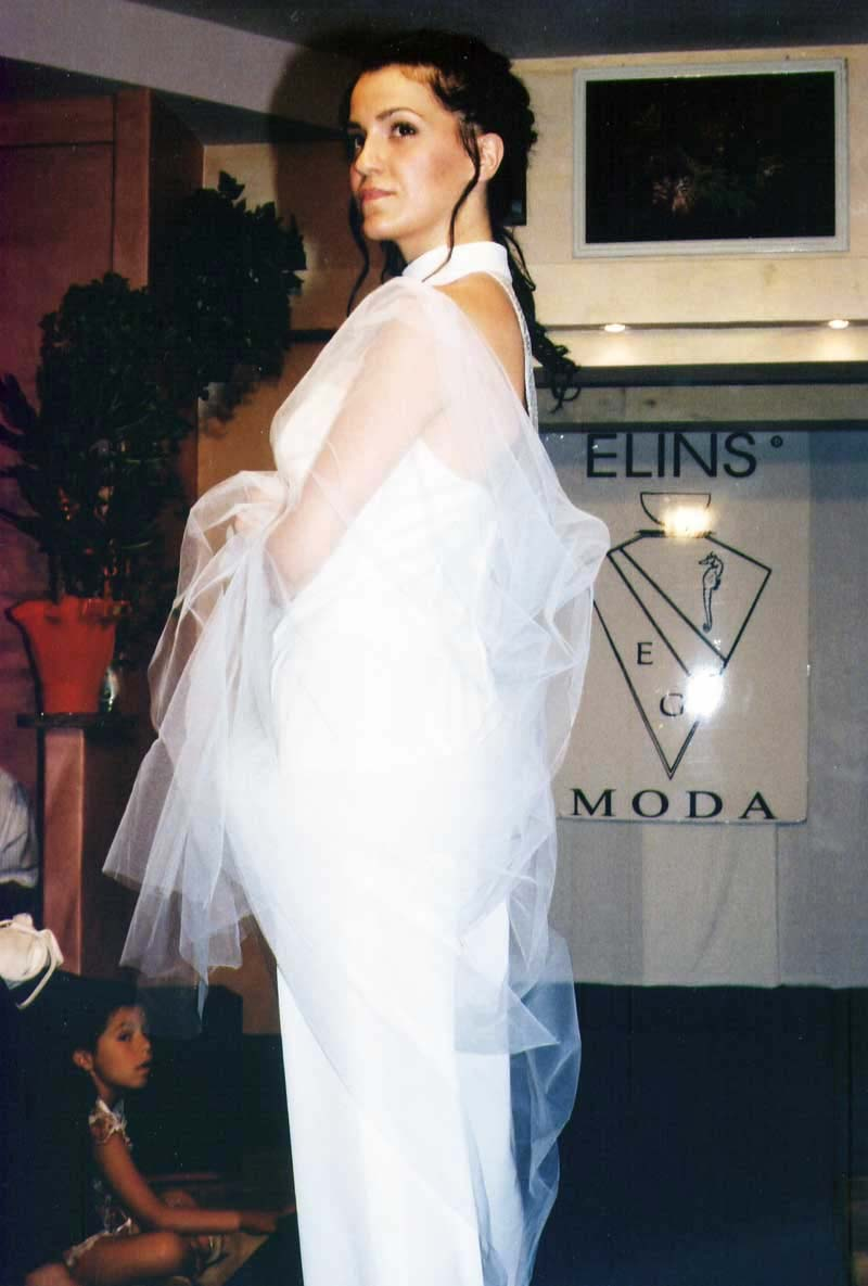 Matrimonio - vestito bianco - Elins moda