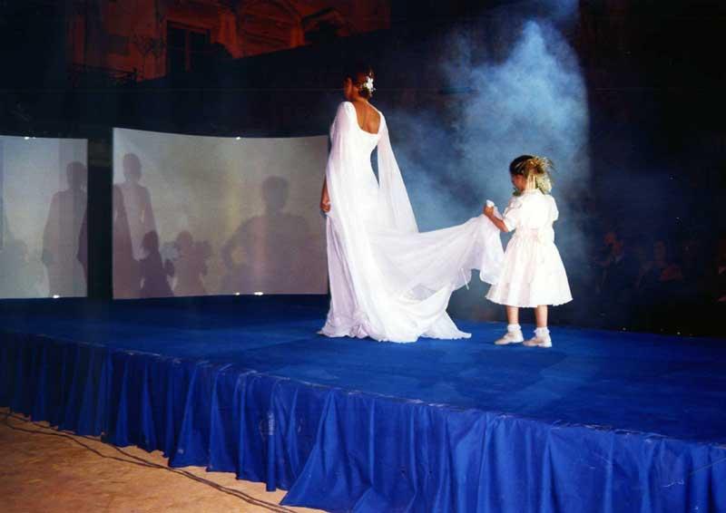 Vestire bambina ad una cerimonia - negozio Atelier a Roma