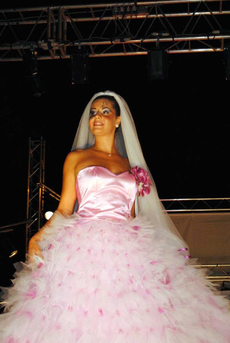 vestito color rosa fucsia - matrimoni