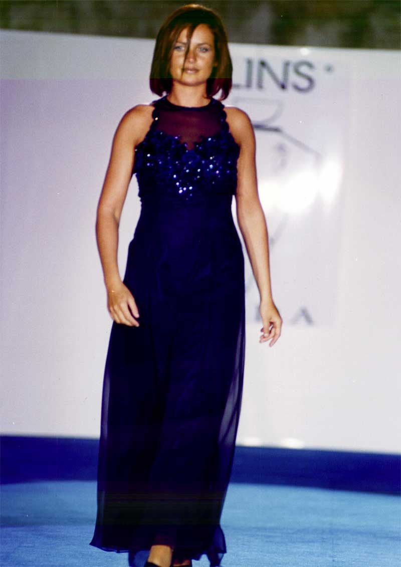 abito da sera su misura stilista moda donna - Elins 8fc118ce338