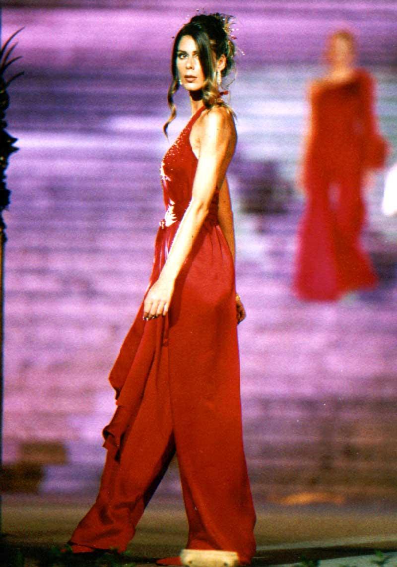 meraviglio vestito rosso