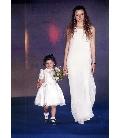 Bambino vestitini cerimonia bimbo / bimba abiti damigella