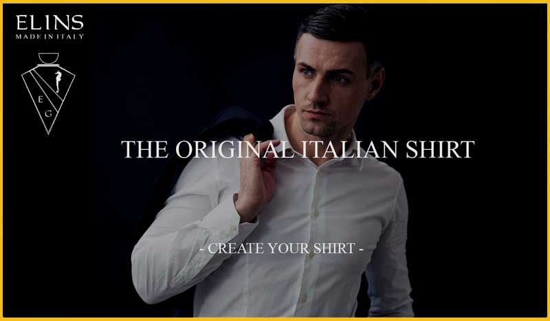 ELINS MODA : THE ELEGANCE OF ITALIAN SHIRT