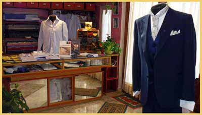 Tailored suit for men exclusive and personalized