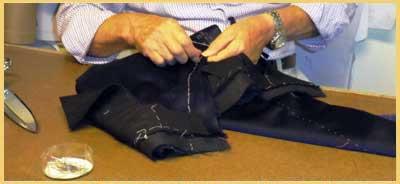sartoria abito esclusivo personalizzato