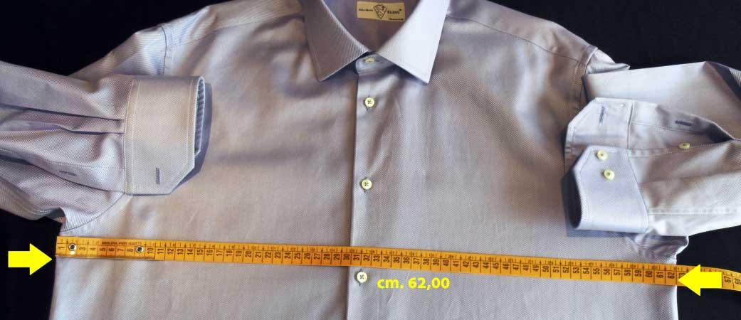 misura torace camicia - sartoria elins