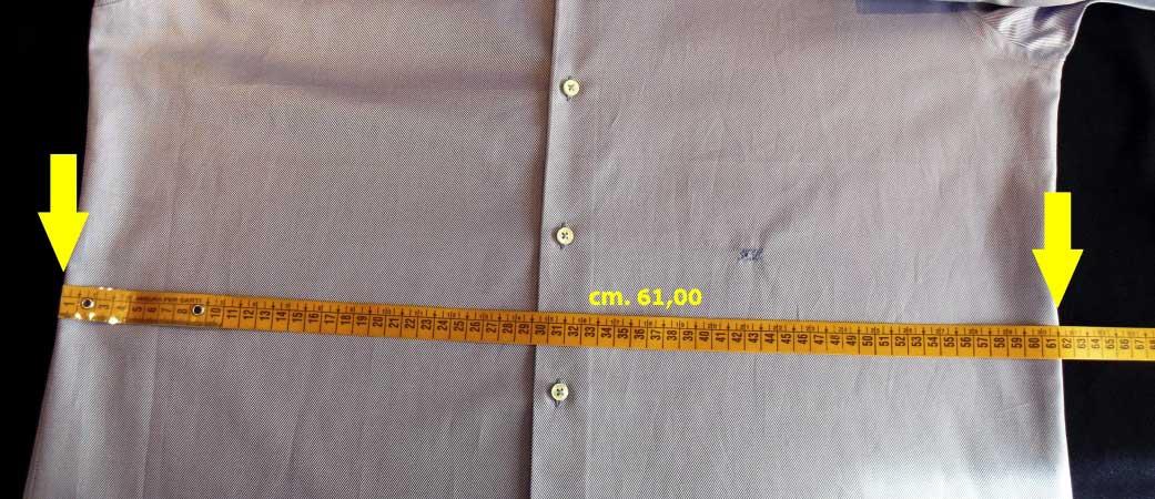 misura vita camicia - sartoria elins