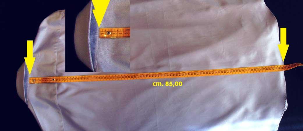 lunghezza camicia - sartoria elins