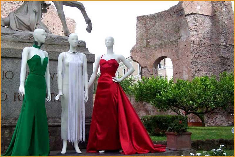 Presentazione moda a Roma - Eleonora Giamberduca stilista